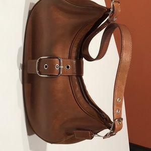 Handbags - Leather Coach Bag/ Shoulder Hobo